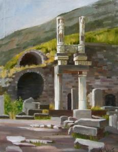 """Ruins at Ephesus"""
