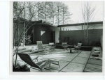 Carr residence's hidden terrace