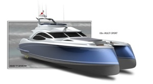 "The multi-hull ""VL 20"" by Setzer Design Group"
