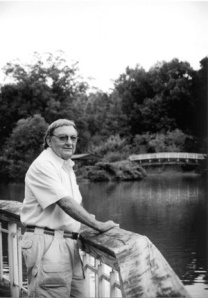 Dick Bell at Pullen Park in Raleigh. Bell designed the park in the 1960s. Photo © f8 Photo Studios