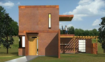 The Corten Cottage