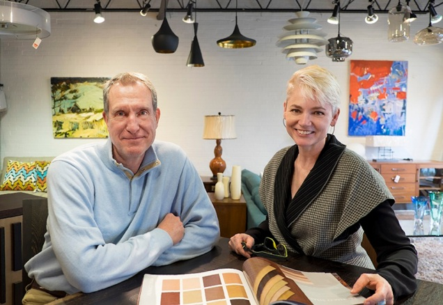 Bob Drake and Ann Marie Baum of Trig Modern