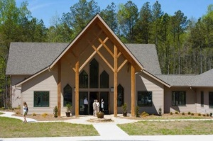 Main, sanctuary building completed in 2011.