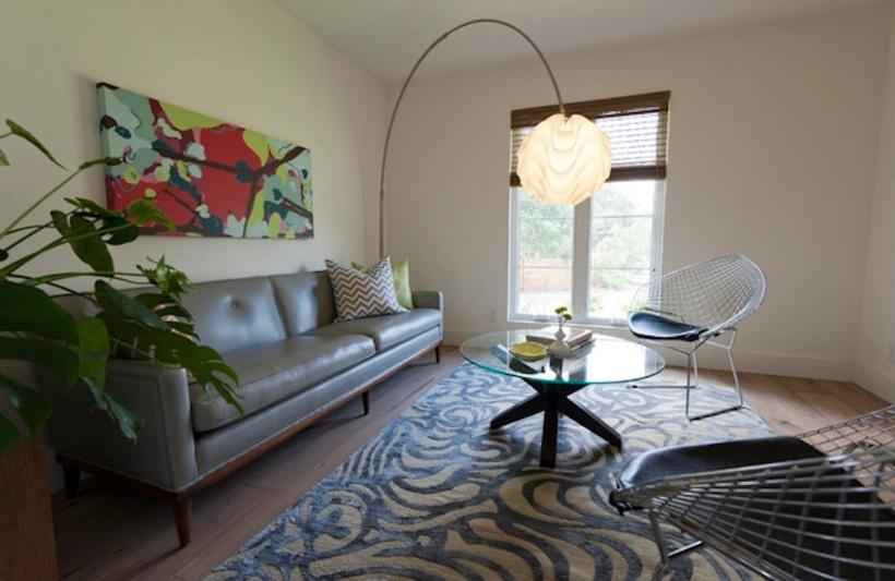 Emma Gardner Designs area rug. (Photo from EGD gallery)
