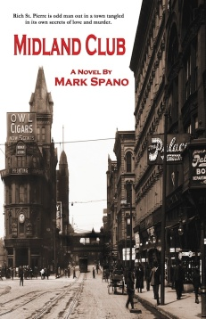 new murder mystery/gay lit book by Mark Spano
