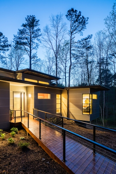 modern, age-n-place house Chapel Hill