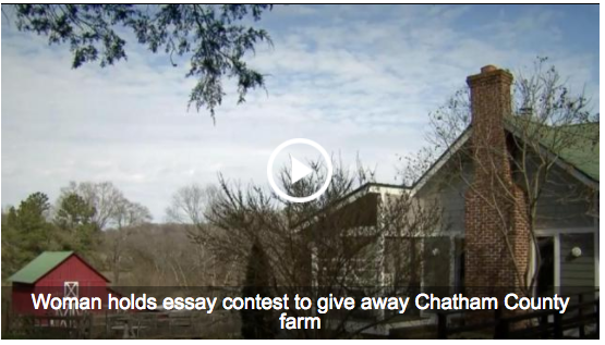Couples write essays, not checks, to own Chatham County farm : WRAL.com 2017-09-10 23-20-31