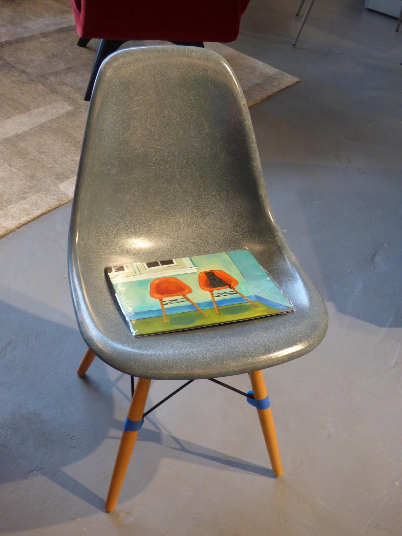 Eames Chair plus Cat Illus. copy