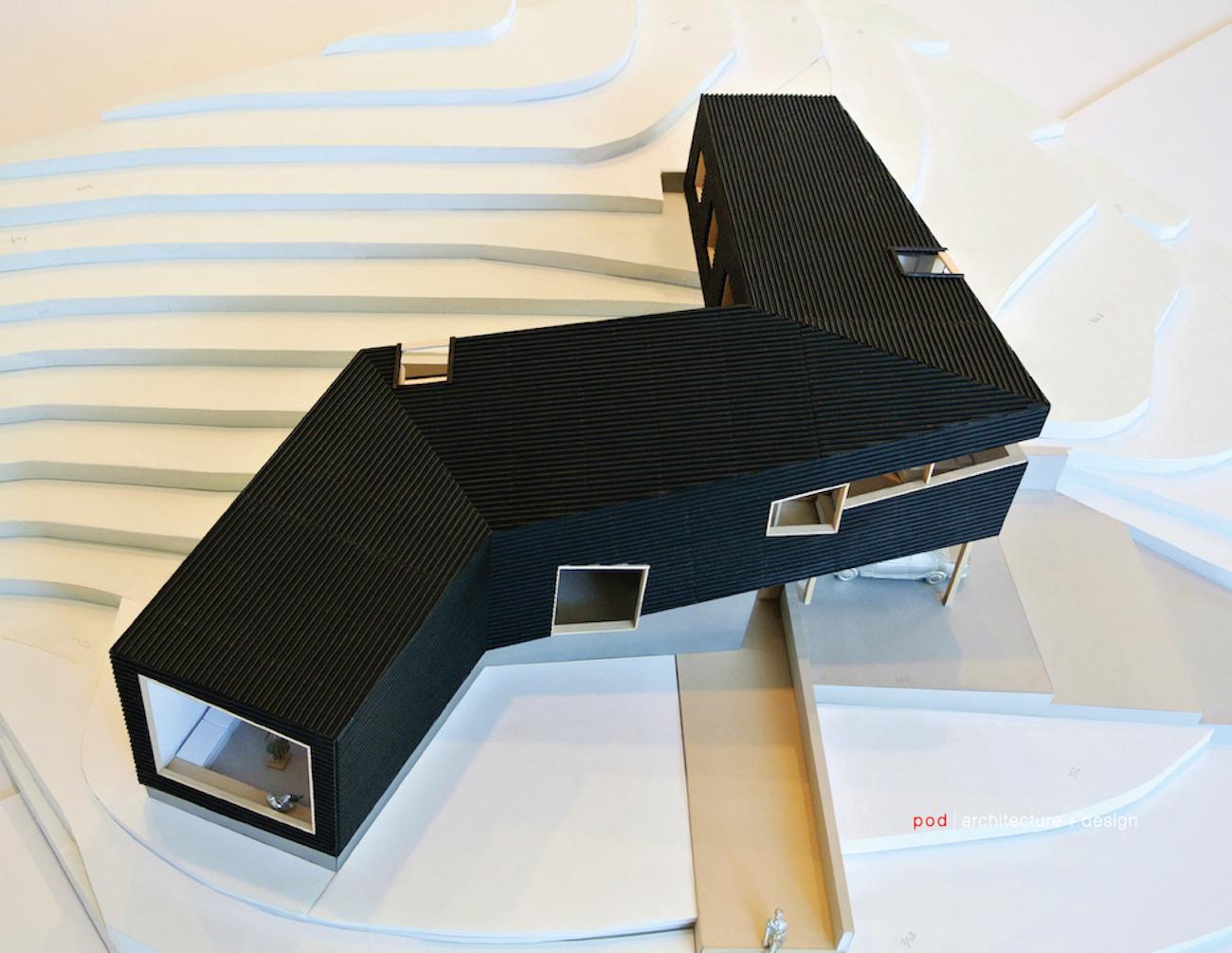 modern, custom-design house NC